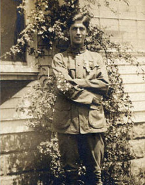 Arthur Eldred - First Eagle Scout