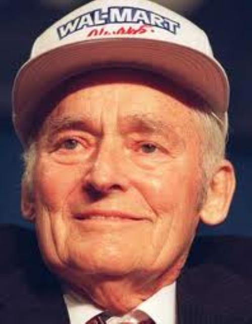 Sam Walton - Founder of Wal-Mart